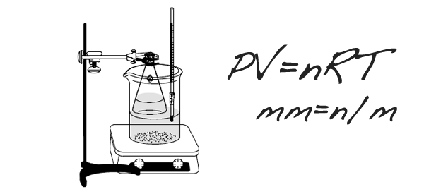 Determination of the molar mass of volatile liquids